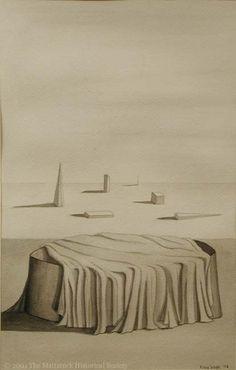 Kay Sage - 1943 - The Minutes no. 3