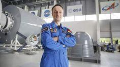 Traum von der Reise zum Mond: Astronaut Maurer bereitet sich auf Flug ins All vor