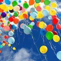 rainbow balloons - make me smile Bubble Balloons, Rainbow Balloons, Colourful Balloons, Bubbles, Helium Balloons, Colorful, Birthday Wishes, Birthday Cards, Happy Birthday
