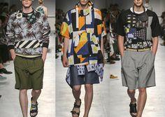 Milan Menswear Print Highlights – Spring/Summer 2015 catwalks
