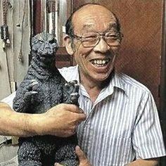 The original Godzilla suit actor.