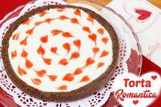 TORTA ROMANTICA CON CUORE AL CIOCCOLATO Valentines Day Food, New Recipes, Yummy Food, Delicious Recipes, Pudding, Pie, San Valentino, Desserts, Youtube