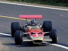The monocoque Lotus 49. The world of racing changed forever.