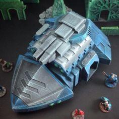 Dominion Justifier Heavy Grav-Tank (15mm scale)