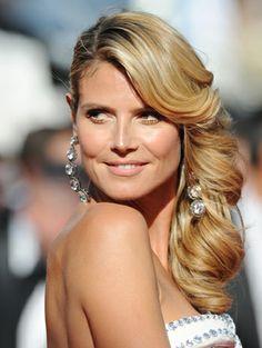 Bridal Beauty: 20 Romantic Celebrity-Inspired Hairstyles - Heidi Klumhttp://primped.ninemsn.com.au/galleries/hair-galleries/bridal-beauty-20-romantic-celebrity-inspired-hairstyles?image=18