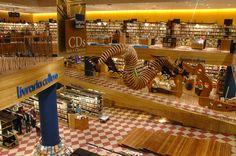 Livraria Cultura, bookshop, Sao Paulo Brazil