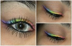 Rainbow eyes!! @Sephora's #TheBeautyBoard: http://gallery.sephora.com/photo/rainbow-inspired-1417