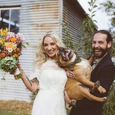 Pure Bliss - The Cutest Wedding Dogs on Instagram - Photos