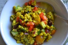 Curried Couscous Vegetable Salad