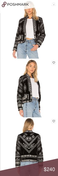 Raga Lunar Eclipse Velour Jacket Absolutely stunning. Not sure I wanna part with this, but the dry clean/hand wash aspect of it isn't too practical with my mommy life. Still on the raga site for $386, on sale at revolve for $270. I am open to •reasonable• offers. Only worn once for a few hours, perfect condition. Will ship with tags & extra beads. RAGA Jackets & Coats