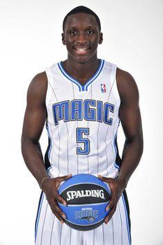 Vic in his new gear.  Courtesy of Fernando Medina/Orlando Magic   -   #IUCollegeBasketball