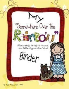 So, what is a Somewhere Over the Rainbow Binder?    The Rainbow binder is a 3-ring notebook that students use everyday to develop organizational skills and responsibility.    This 3-ring binder houses EVERYTHING your child, you (the caregivers) and I need to keep up-to-date with what is going on in our classroom and at school. Everything will be right here in our Rainbow Binder!