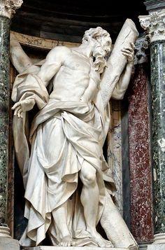Camillo Rusconi - St. Andrew, Basilica of St. John Lateran
