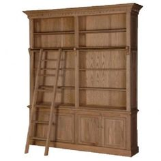 CH Furniture Weathered Oak Library Bookcase £2,174.00