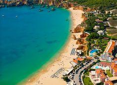 #Beach Praia do Vau, Algarve, Portugal | via http://blog.turismodoalgarve.pt