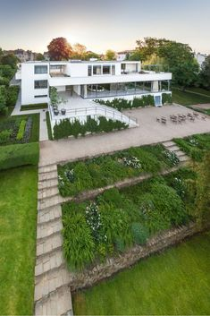 Villa Tugendhat in Brno Czech Republic: Villa Tugendhat has borne witness to the birth of modern housing and also to the tragic fate of the people who lived there. This work by the famous German architect Mies van der Rohe is to this very day regarded as