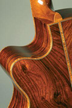 Cocobolo guitar by Judy Threet Guitar Humidifier, Acoustic Guitar Photography, Fender Acoustic Guitar, Guitar Building, Beautiful Guitars, Custom Guitars, Guitar Design, Cool Guitar, Ukulele