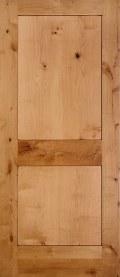 Reno Knotty Alder 2 Panel Shaker Square Sticking Door 1 3 8 Knotty Alder Doors Shaker Style Interior Doors Discount Interior Doors