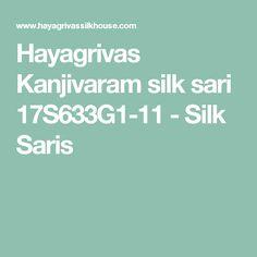 Hayagrivas Kanjivaram silk sari 17S633G1-11 - Silk Saris
