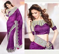 Latest Design For Saree Blouses