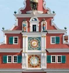 Clock at the Townhall in Esslingen