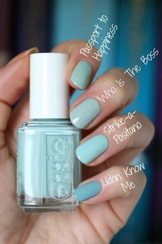 Essie Resort 2017 Collection + 2 Re-Releases : Swatches, Reviews & Comparisons   Essie Envy