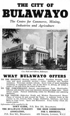 Zimbabwe History, My Family History, All Nature, Vintage Travel Posters, Borneo, Cityscapes, Ancestry, Continents, Black History