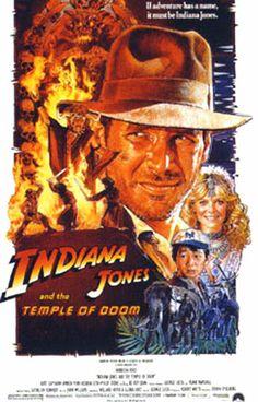 Indiana Jones y el templo maldito, poster
