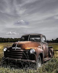Old trucks...like old friends.