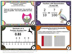 FREE Fractions Download Task Cards Common Core Math Centers Games SCOOT -- In this resource, you will find eight printable task cards for Grade 4 Common Core fractions. Task cards are a great alternative to worksheets. They allow movement in the classroom, which brain research supports for increased achievement! Students may play SCOOT, have a scavenger hunt, or play other games. Try the sampler for free!
