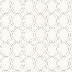 Graham & Brown 56 sq. ft. Darcy White Wallpaper-57218 at The Home Depot