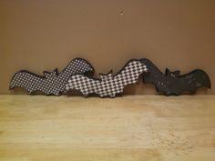 crafty wood cutouts: Bat Wood Craft