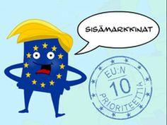 EU:n 10 prioriteettia: sisämarkkinat