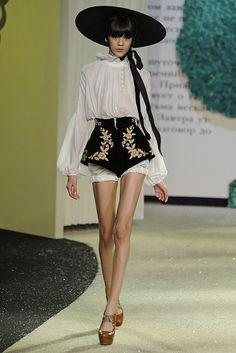 Ulyana Sergeenko Spring Couture 2013