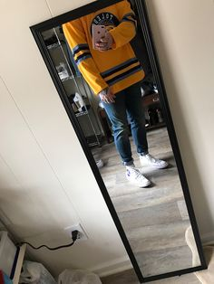 [WDYWT] home town hockey jersey, Pac Sun Jeans, patched up chucks. Simple fit. : streetwear