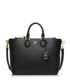 71f22cad5 Tory Burch Robinson Double Zip-Pocket Tote Bag | a c c e s o r i z e ...