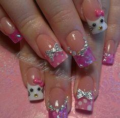 Acrylic nails by Nicole Maestas
