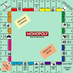 Monopoly: Trojan War Edition - Historical Fiction Online