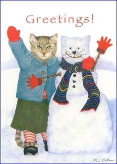 """""""Snow Cats"""" - The Inky Paw"""