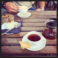 Koffie met @powerpicturesfotografie... #myview