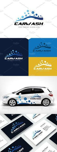 Car wash Logo. Logo Templates