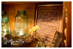 Frilly Milly Events: LumberJack & Jill Part III: Details, details, details!