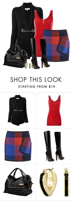 """""""THRUSDAY WORK OUTFIT"""" by arjanadesign ❤ liked on Polyvore featuring MICHAEL Michael Kors, iHeart, Barbara Bui, Dsquared2, Marc by Marc Jacobs, Lee Renee, WorkWear, michaelkors, dsquared2 and barbarabui"""