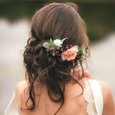 Are you interested in our Bridal Flower Hair Comb? With our Bridesmaid Hair Accessory you need look no further. Are you interested in our Bridal Flower Hair Comb? With our Bridesmaid Hair Accessory you need look no further. Bridesmaid Hair Flowers, Bridesmaid Hair Accessories, Wedding Hair Flowers, Wedding Hair And Makeup, Bridal Flowers, Flowers In Hair, Flower Hair, Braid Flower, Bridesmaids