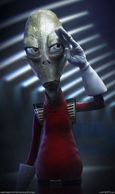 Kif - Futurama. I don't like the Zoiberg one, he's too scary looking, & the Nibbler one's arms & legs are too long.