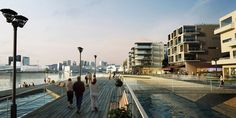 High resolution renderings (Oslo projects)