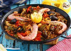 Paella de frutos do mar, Receita Petitchef