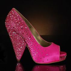 Benjamin Adams Sofia Fuschia Wedding Shoes 39000