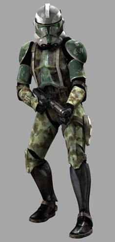 Commander Gree: CC-1004, Leader of the 41st Elite Corps