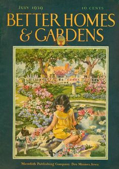 Better Homes and Gardens 1929